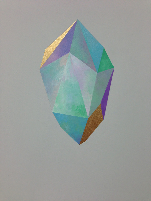 Gold Crystal 65 by rebecca chaperon