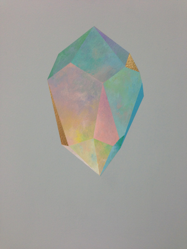 Gold Crystal 66 by rebecca chaperon