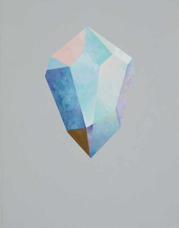 Gold Crystal 48 by rebecca chaperon