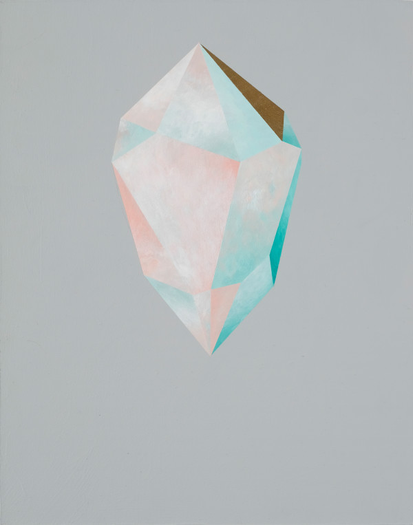 Gold Crystal 55 by rebecca chaperon