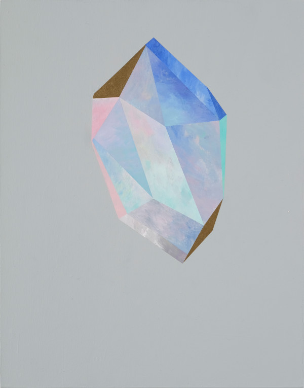 Gold Crystal 58 by rebecca chaperon
