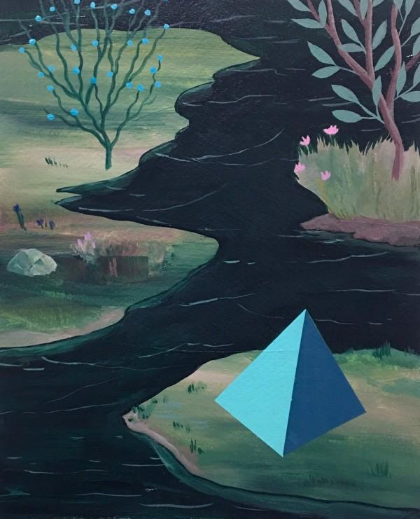 Pyramid Marsh by rebecca chaperon