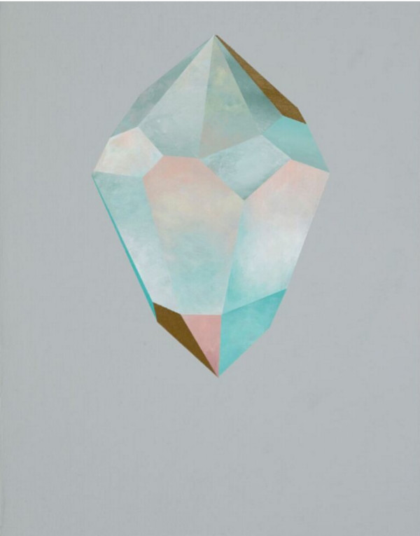 Gold Crystal 59 by rebecca chaperon