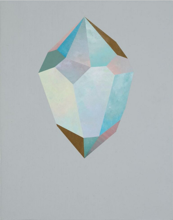 Gold Crystal 54 by rebecca chaperon