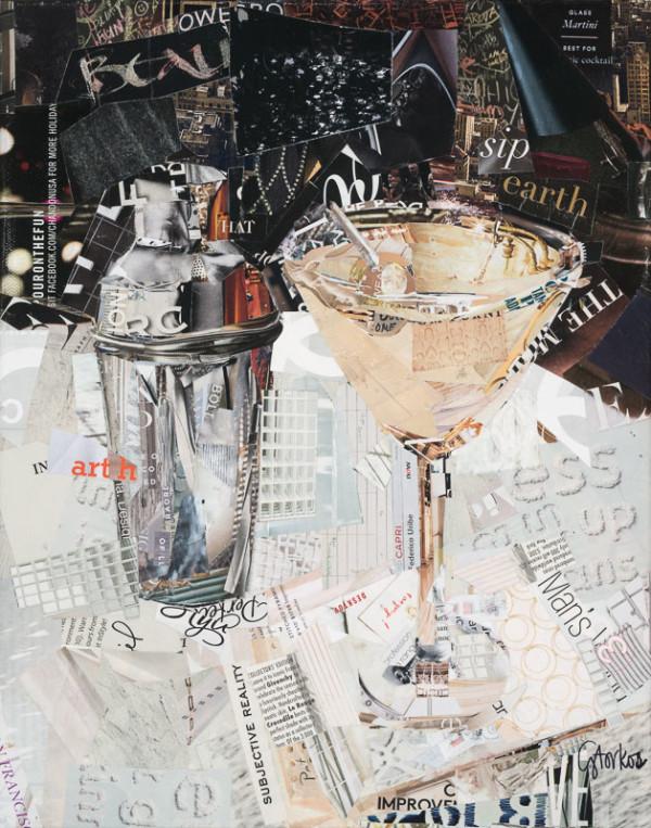 Extra Dirty Martini by Gina Torkos