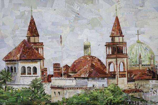 St Augustine Skyline by Gina Torkos