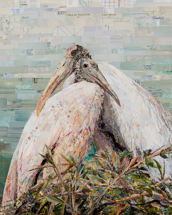The Wood Storks by Gina Torkos