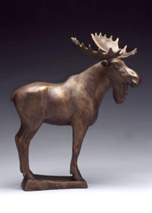 Asian Moose by Cathy Ferrell