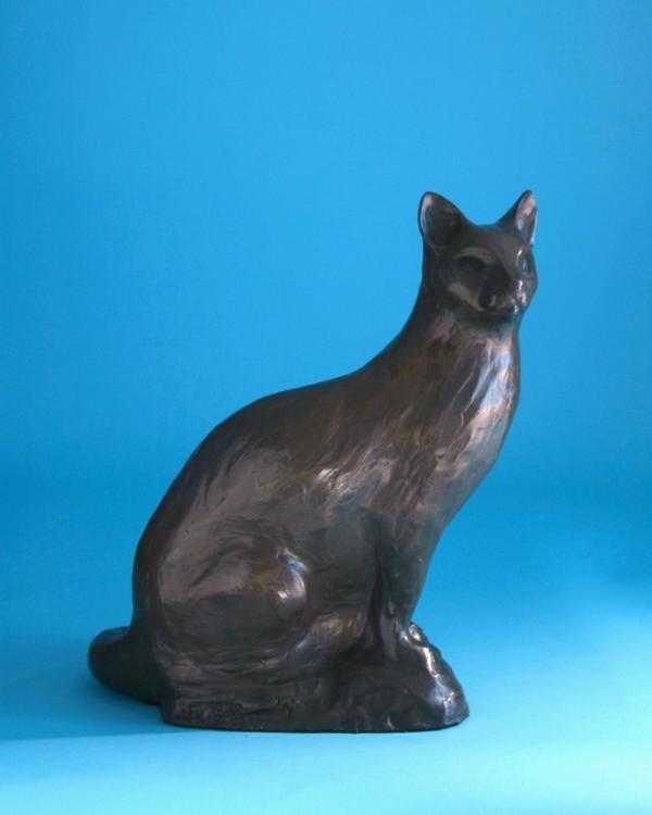 Siamese Cat by Cathy Ferrell