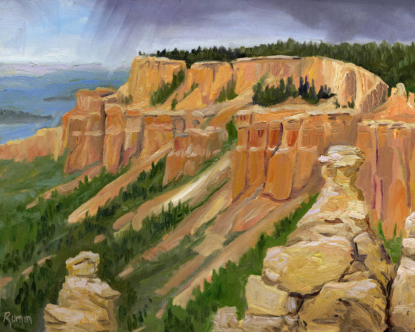 Stormy Sky Over Bryce Canyon