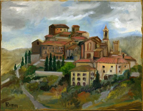 Montisi, Tuscany