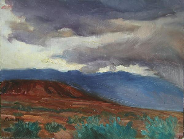 Owens Valley Storm No #1