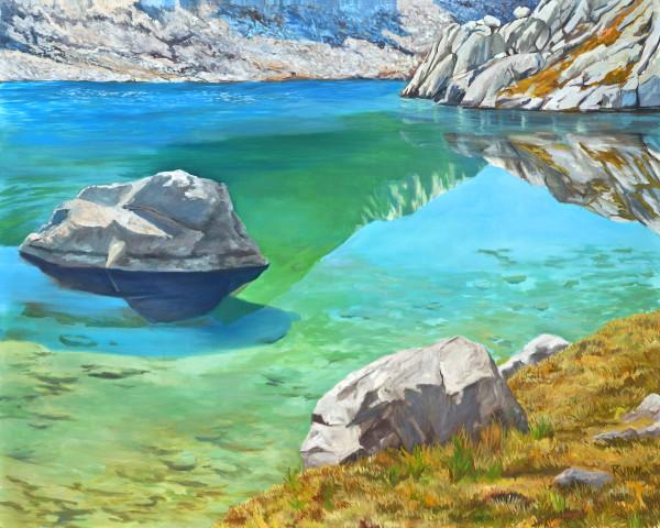 Sapphire Lake (Evolution Basin)