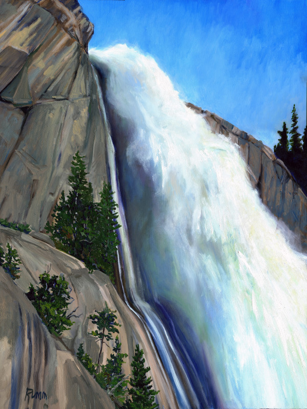 Spring Velocity - Nevada Falls