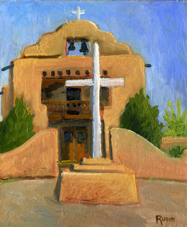 Abique Adobe Chapel, New Mexico