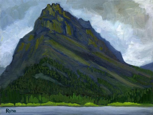 Dark Mountain, Glacier National Park