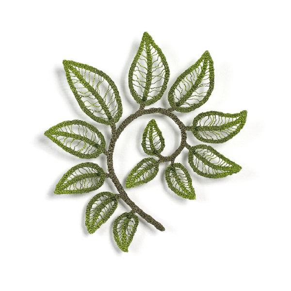 #2 Leaf Spiral by Meredith Woolnough