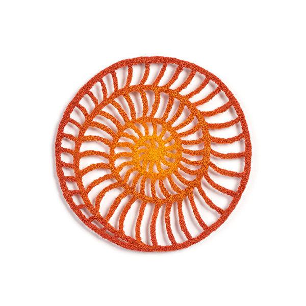 #45 Ammonite Circle by Meredith Woolnough