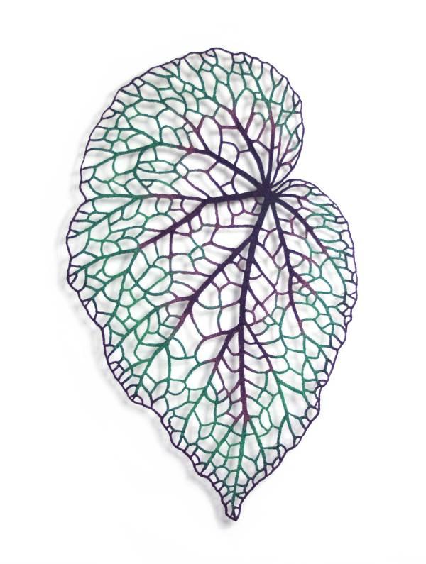 Begonia Leaf #1 by Meredith Woolnough