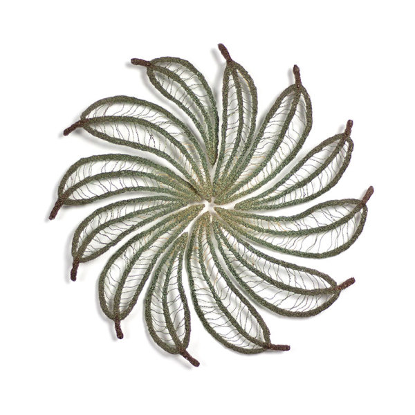 Eucalyptus leaf Colour Wheel #2 by Meredith Woolnough