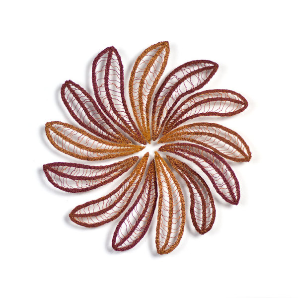 Eucalyptus Leaf Colour Wheel #3 by Meredith Woolnough