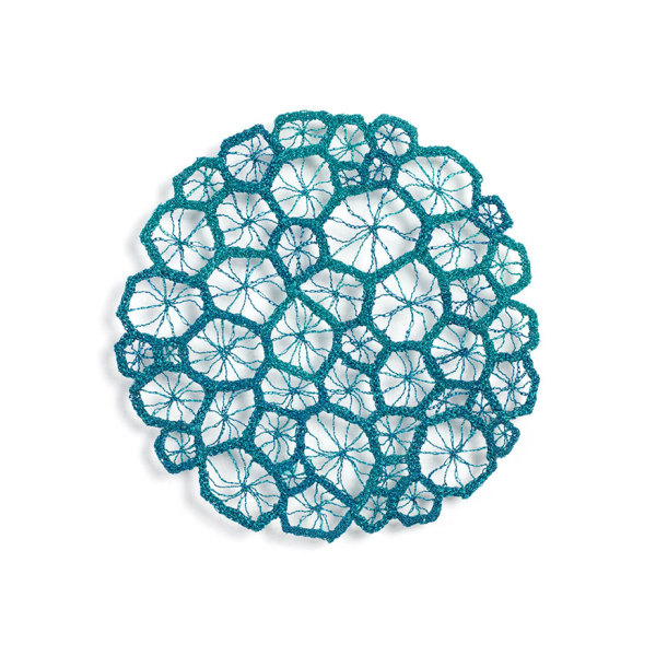 #60 Corallite Square by Meredith Woolnough