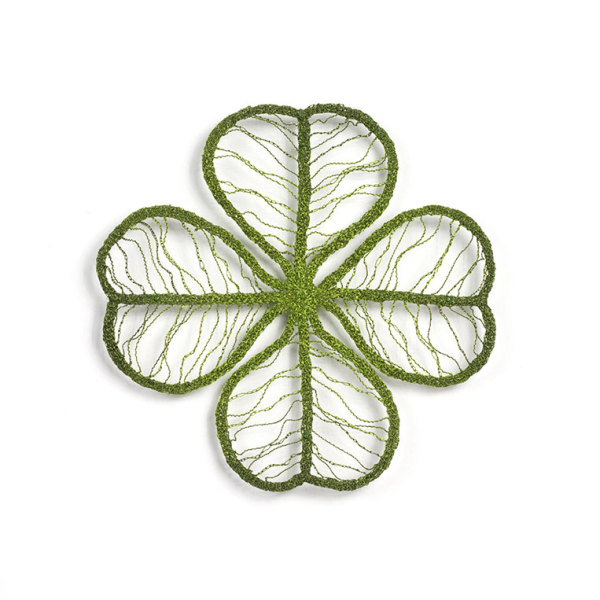 #28 Four Leaf Clover by Meredith Woolnough