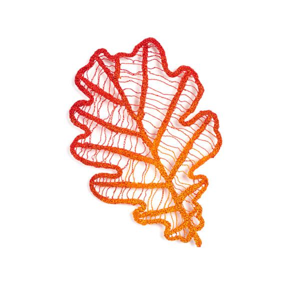 #15 Oak Leaf by Meredith Woolnough