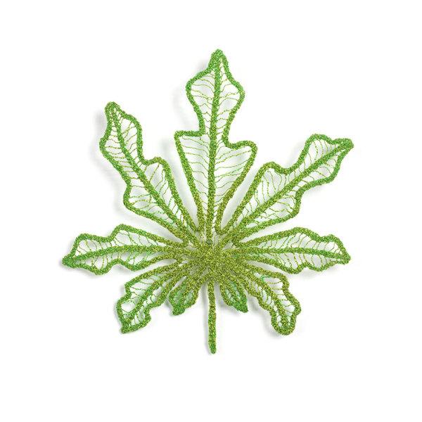 #64 Tapioca Leaf by Meredith Woolnough