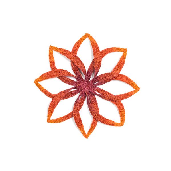 #56 Twisted Flower by Meredith Woolnough