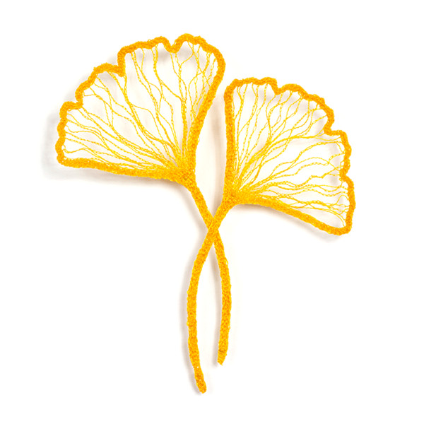 #48 Two Ginkgo's by Meredith Woolnough