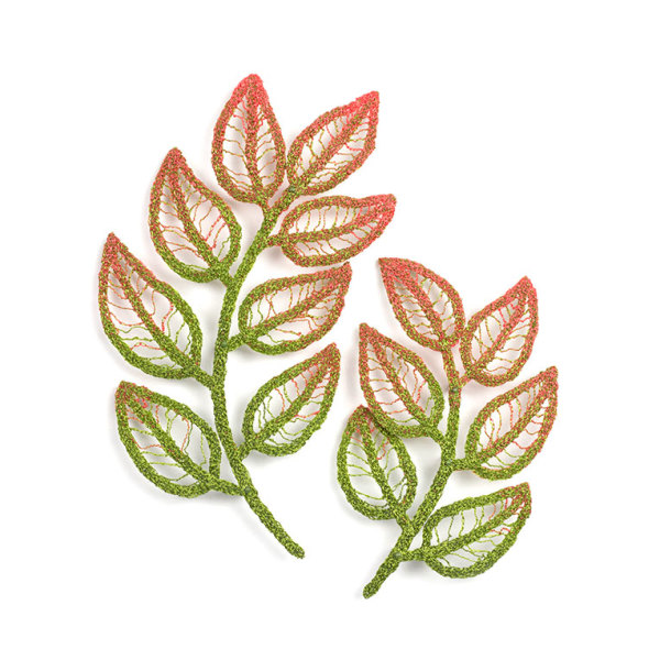 #75 Young Plant Fronds by Meredith Woolnough