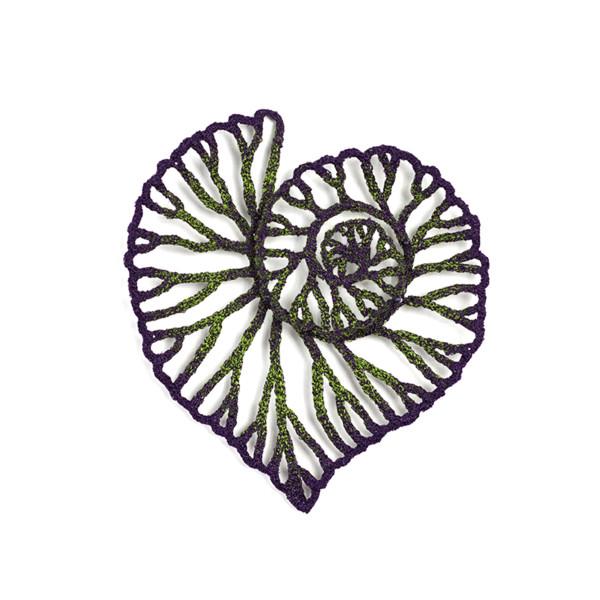 #19 Begonia Leaf by Meredith Woolnough