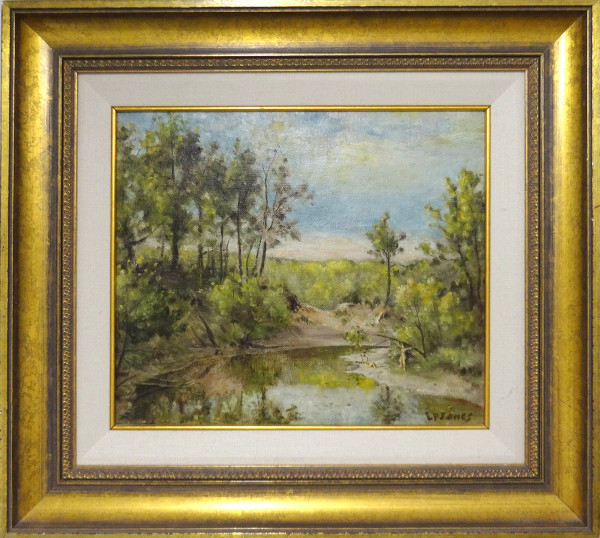 0265 - Whitemud Creek, Edmonton by Llewellyn Petley-Jones (1908-1986)