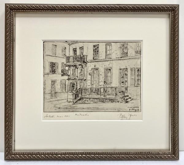 2449 - Montmartre-Christmas 1981 by Llewellyn Petley-Jones (1908-1986)