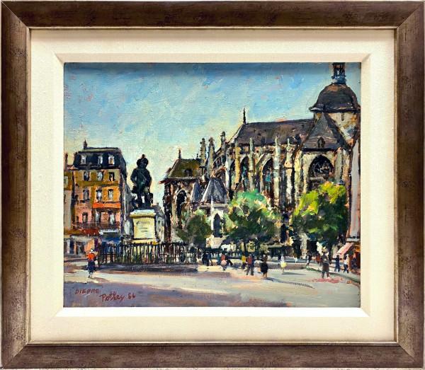 0315 - Dieppe by Llewellyn Petley-Jones (1908-1986)