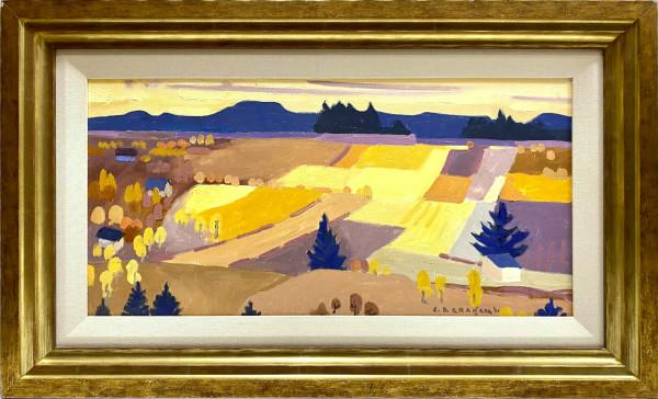 0362 - Autumn Flower Farm by Colin Graham ( 1915 - 2010)