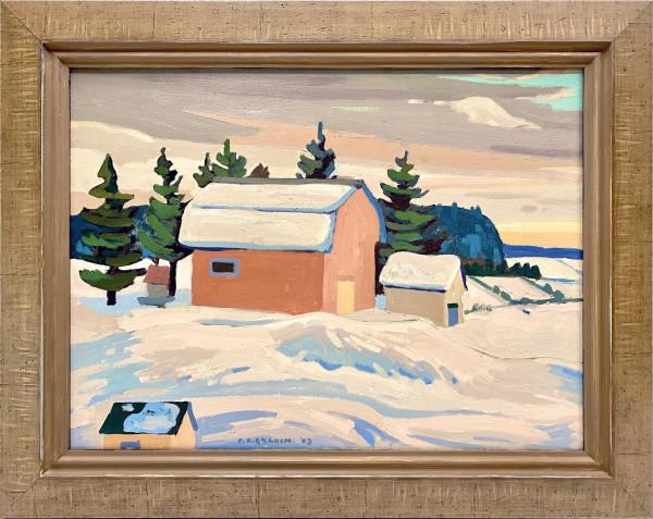0369 - Peninsula Winter by Colin Graham ( 1915 - 2010)