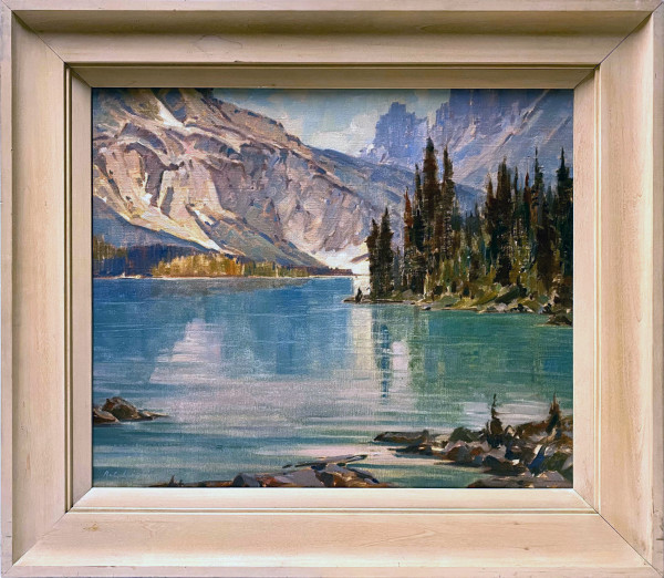 0394 - Cerulean Lake ( BC) by A. C. LEIGHTON (1901-1965)