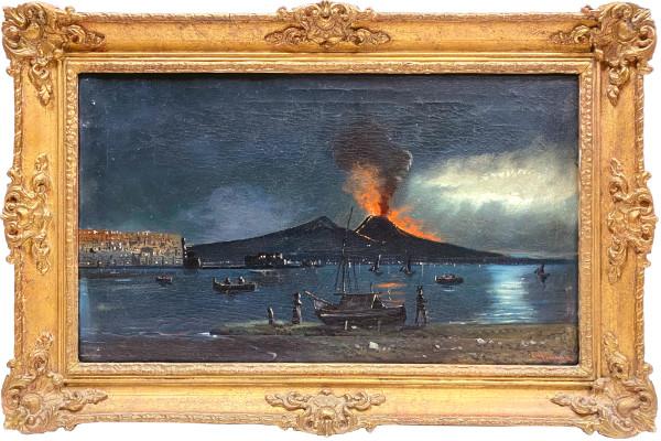 0685 - Vesuvius circa 1900 by F Gianni