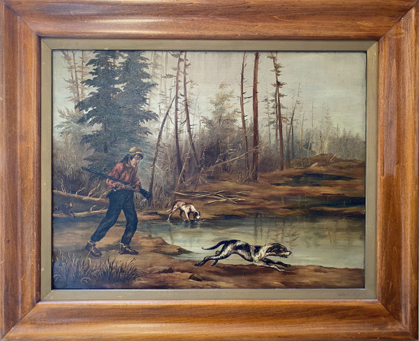 0758 - Early Canadian Hunter by Unknown