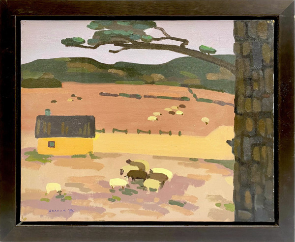 0805 - Fold in Autumn by Colin Graham ( 1915 - 2010)