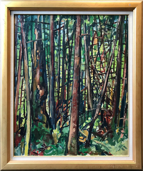 0815 - Forest Summer Morning by Llewellyn Petley-Jones (1908-1986)