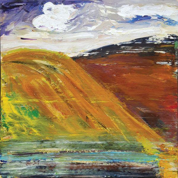 0844 - Edge of a Hill by Matt Petley-Jones