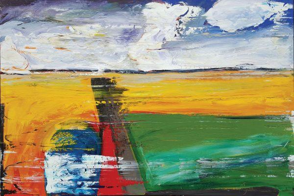 0858 - Merging Road by Matt Petley-Jones