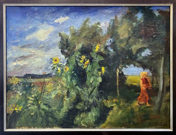 0920 - Sunflower Garden by Mogens Vantone