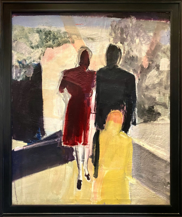 0923 - Untitled Abstract Figurative by Charlotte Brieff