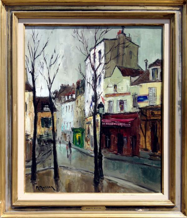 0993 - Street Scene by Marcel  Masson (1910 - 1988)