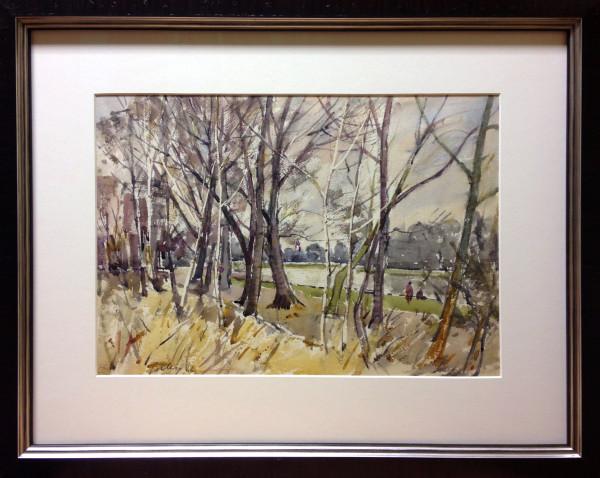 1076 - Winter Day by Llewellyn Petley-Jones (1908-1986)