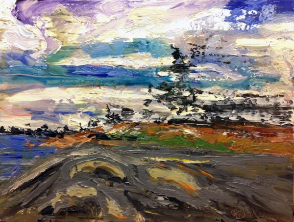 1204 - Untitled (Landscape) by Matt Petley-Jones